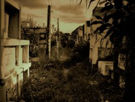 old cemetery by silverlife