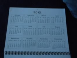 BAR's Calendar 2012 BackCover by BARproductions
