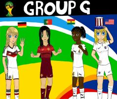 Worldcup Brazil 2014 Group G by SILENTWARRIOR3800