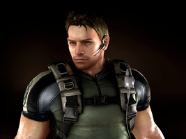 RE5: Chris BSAA by ceriselightning