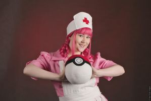 Nurse Joy IV by Samii-Doll