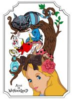 Alice in Wonderland by predator-fan
