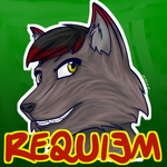 Requiem - badge | Drakommission by G3Drakoheart-Arts