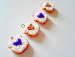 Peanut Butter and Jelly CHarms by kikums