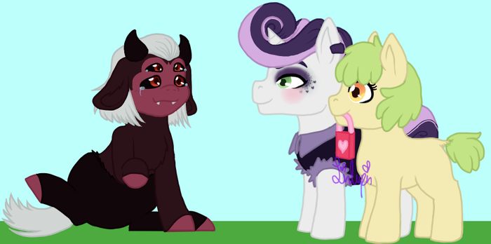 PMOL contest: New friendship by LinLupin