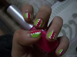 Summer Time - Nail Art by srishti-bagaria