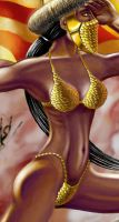 Armour bikini, detail by ozoneocean