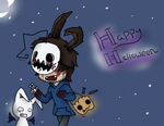 Happy Halloween!! by PaperPlushie
