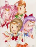 Sailor Digi Destined Girls by SirenJagonshi