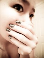 Me with Minx Nails by mG4ya
