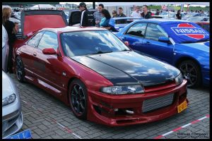 1996  Nissan Skyline R33 by compaan-art