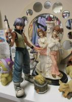 Two porcelain girls swooning over Riku by Candyfloss-Unicorn