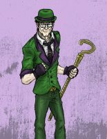 The Riddler - The Obsessive Compulsive Criminal by MattFriesen