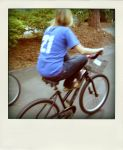 on a bike by Lauraphay