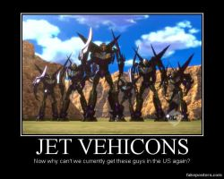 Transformers Prime Jet Vehicons by Onikage108