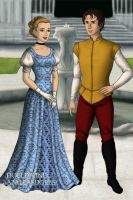 Cinderella and Prince Charming by Kailie2122