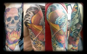 Koi music by state-of-art-tattoo