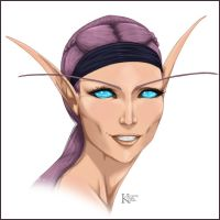 Comm - High Elf by kaiverta