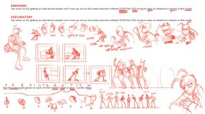 Character Animation Final Exploratory Poses by LuckySquid