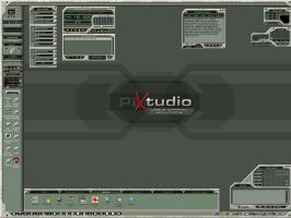 My Pixtudio Desktop by vectornut