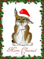 Christmas Lynx with Effects by Aurora-Equistar