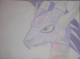 Cynder Drawing by Conny93