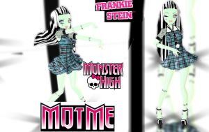 MMD MOTME .::MONSTER HIGH::. Frankie Stein by RinXNeruXD