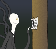 Slenderman by WheatPodlaska