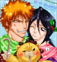 Bleach - Happy Holidays by aj-chan