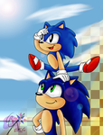 Sonic Generations by Azurelly
