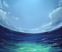Perfect Blue by WindSwirl