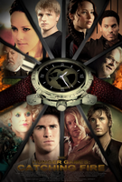 The Hunger Games: Catching Fire - Fan Poster by SuperDude001