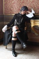 Ciel cosplay - Head of Phantomhive Family by AngyValentine