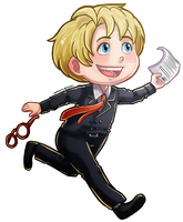 Alfred chibi for ask-switch-alfred@tumblr by jackzarts