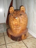 Chainsaw Bear by Sawdust013