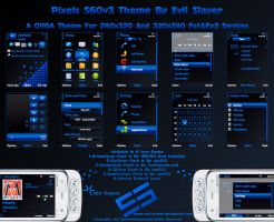 Pixels S60v3 Theme by Evil-Slayer