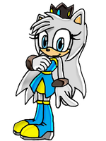 COM: Cristal the hedgehog by Waito-chan