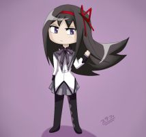 Homura chibi by koffing109