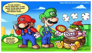 New Super Mario Bros. 2 by JFRteam