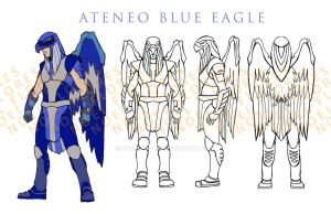 Winged Warrior Design by atongwali