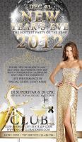 Elegant New Year's Eve Party Template by tinachang89