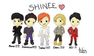 SHINee by dreamstation369