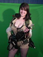 Molly H of the Sexy Ghostbusters Calendars by GhostbustersNews