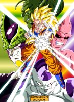Posters Dragonball z Vector Art by Comunello76