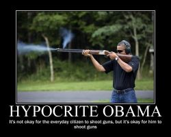 Hypocrite Obama by Balddog4