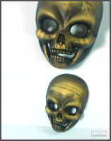BJD Skull Mask by SheCow