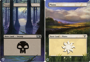 Mtg Land Alters (7-8) by unistar2000
