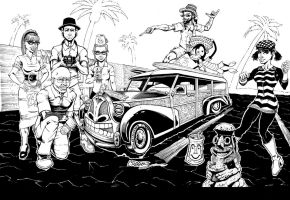 Tonga Hut Woody Final inks by Splotchy77