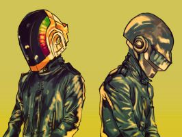 daftpunk by pokeburro