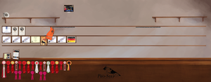 Kennel Pro-Step' Trophy Room by Stiir